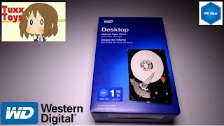 Westren Digital 1TB internal Hard drive (WD Blue series)