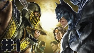 Mortal Kombat vs DC Universe - Walkthrough - Part 1 - Chapter 1: The Flash [HD]