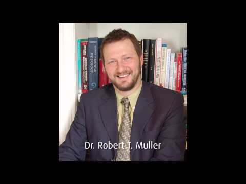 Becoming a Trauma Therapist - Dr. Robert T. Muller