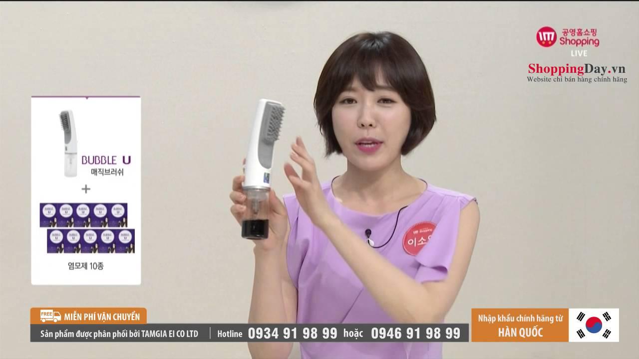 ShoppingDay.vn – Lược nhuộm tóc thông minh Bubble Stick Korea
