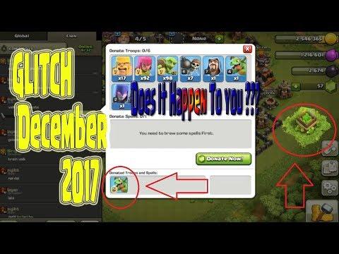 Clash of Clans GLITCH 2017  December |  Clash of  Clans UPDATE
