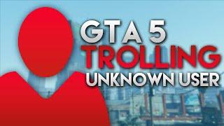GTA 5 TROLLING EXTREM - Unknown User PRANK Episode 1 | iCrimax thumbnail