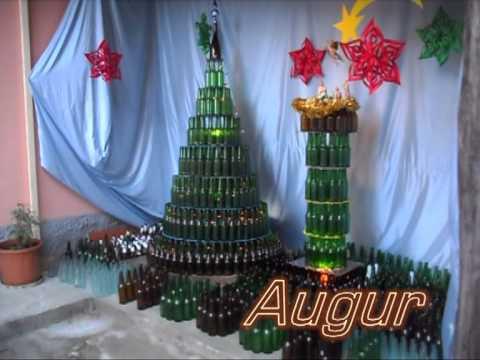 Albero di natale con bottiglie di birra youtube for Obi albero di natale
