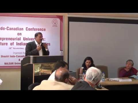 Entrepreneurial Universities: The Future of Indian Universities  | SICI| Nalsar University of Law