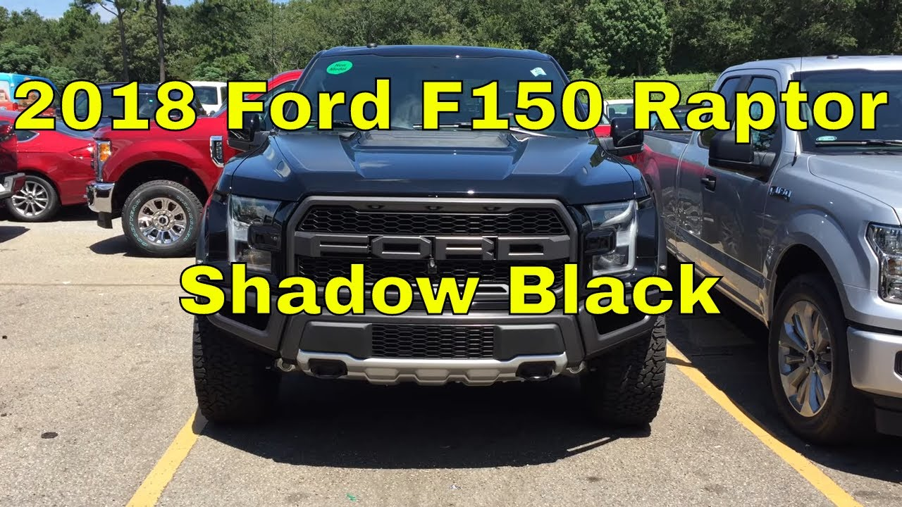 2018 ford f150 raptor exterior walk around shadow black carbon fiber package 802a package