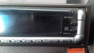 AUX магнитолы KD-G807