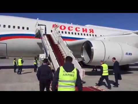 Putin v Bishkek
