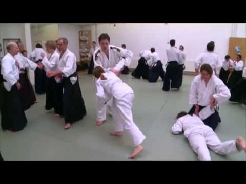 Aikido -- A combat sport that wants to avoid hurting the attacker (1)