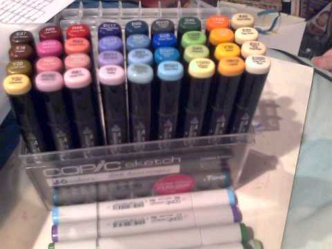 limited edition copic sketch 25th anniversary set
