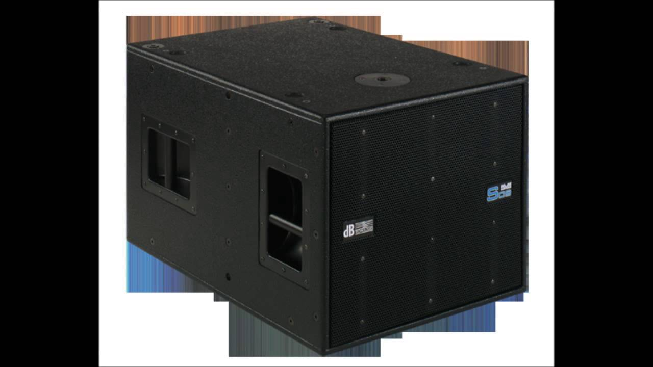 DB TECHNOLOGIES S09 SUBWOOFER DOWNLOAD
