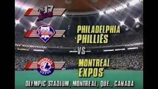 September 17th, 1993 - Phillies vs Expos   @mrodsports