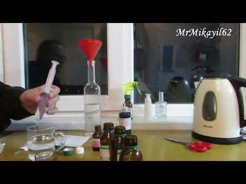 Как в домашних условиях сделать антисептик своими руками. Инструкции от ВОЗ  #Evdəqal #SafeHands
