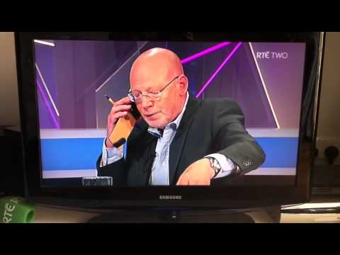 RTE analyst takes call from coach live on air