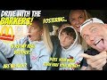 DRIVE with me and my FAMILY + Mcdonalds MUKBANG!