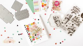 Cue The Confetti!  How To Create A Confetti Flinger Card
