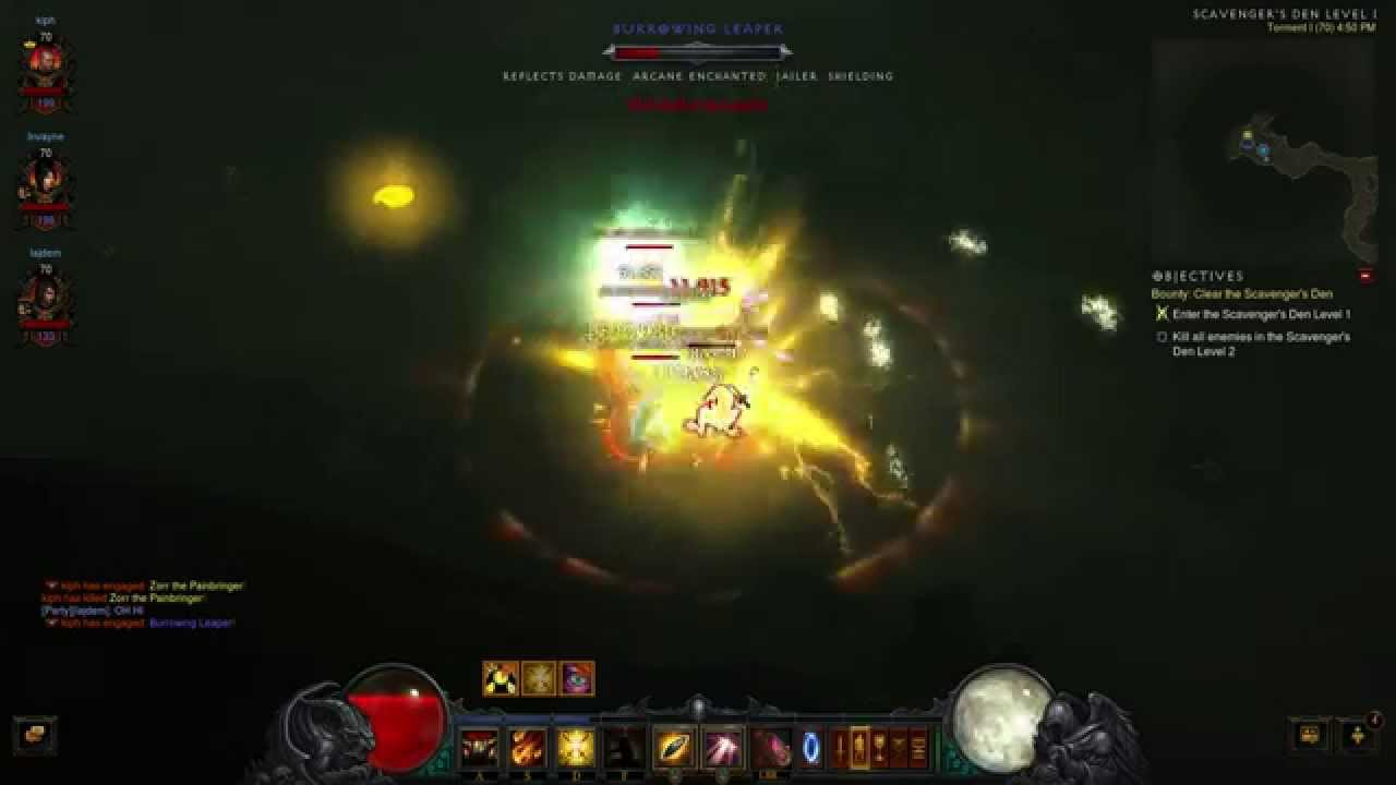Diablo  Blessed Shield Build