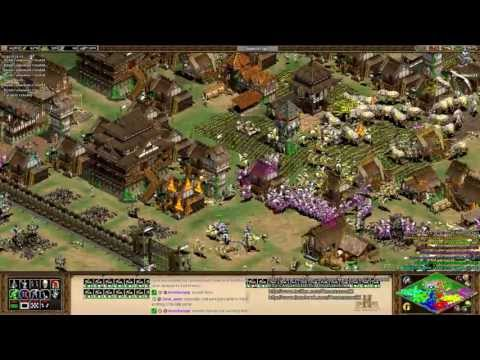 Aoe2 HD: 6v2 Insanely Difficult Custom AI (Match 2) (Part 2/2) (Match 3) - 동영상