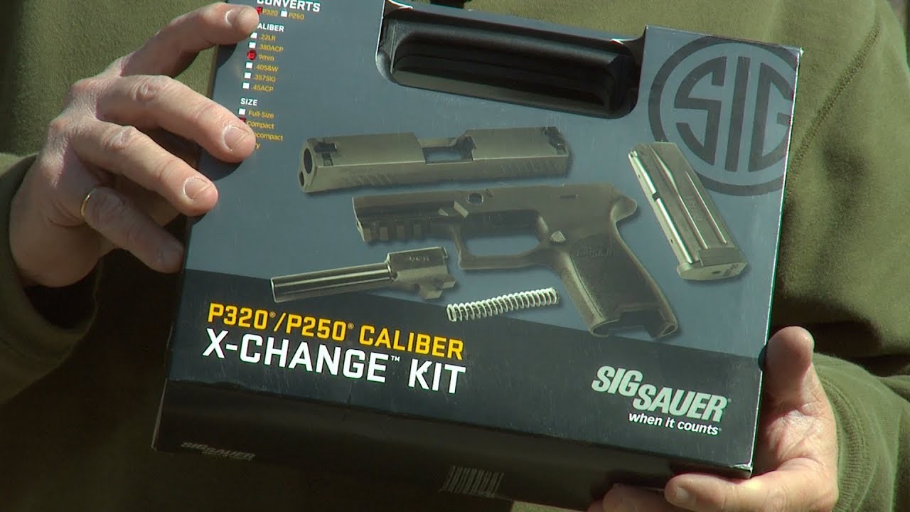 Sig P320 Caliber X-Change Kit and Installation  #344