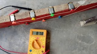 dc motor voltage  generator|generate dc current and voltage| homemade generator