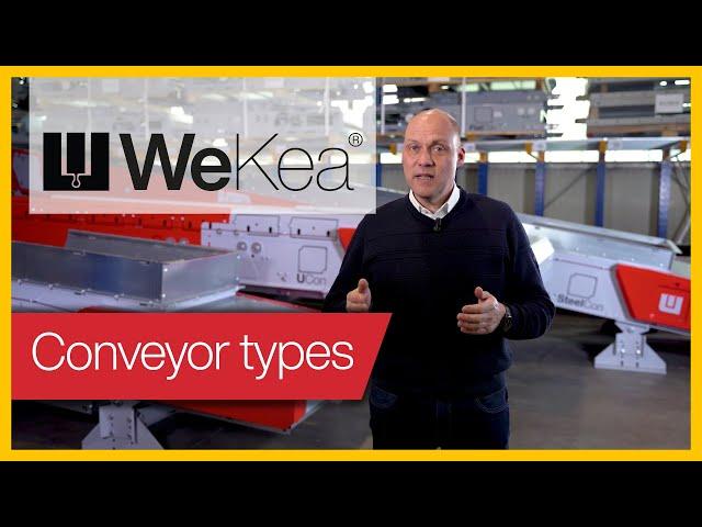 Förderband Typen | WeKea® Explained