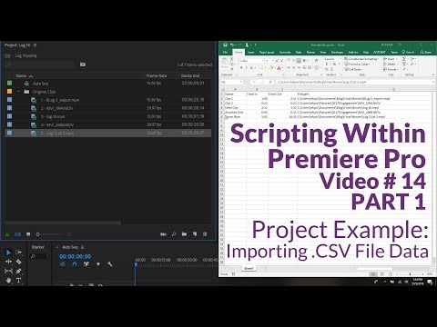 Reading Data from a CSV File - Project Example PART 1 - YouTube