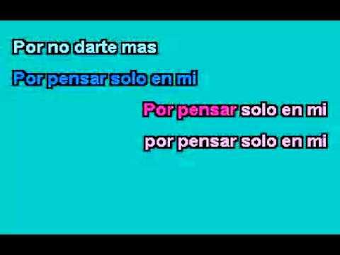 ALEJANDRA GUZMAN  Y FRANCO DE VITA Tan Solo Tu KARAOKE (pop)