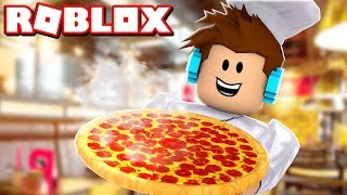 PIZZA DO AUTHENTICGAMES NO ROBLOX !! - (Work at a Pizza Place)