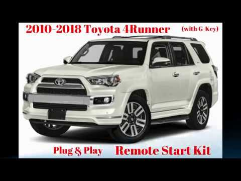 2010 Toyota 4runner Plug Play Remote Start Kit G Key Updated