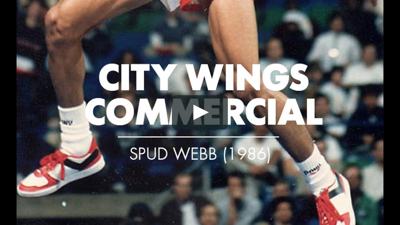 PONY X Spud Webb In City Wings Original