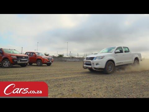 Bakkie Gravel Braking Test: Toyota Hilux vs Ford Ranger vs GWM Steed6