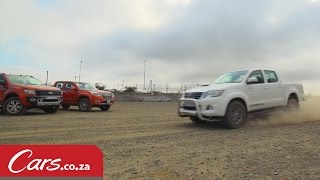 Bakkie Gravel Braking Test: Toyota Hilux vs Ford Ranger vs GWM Steed6