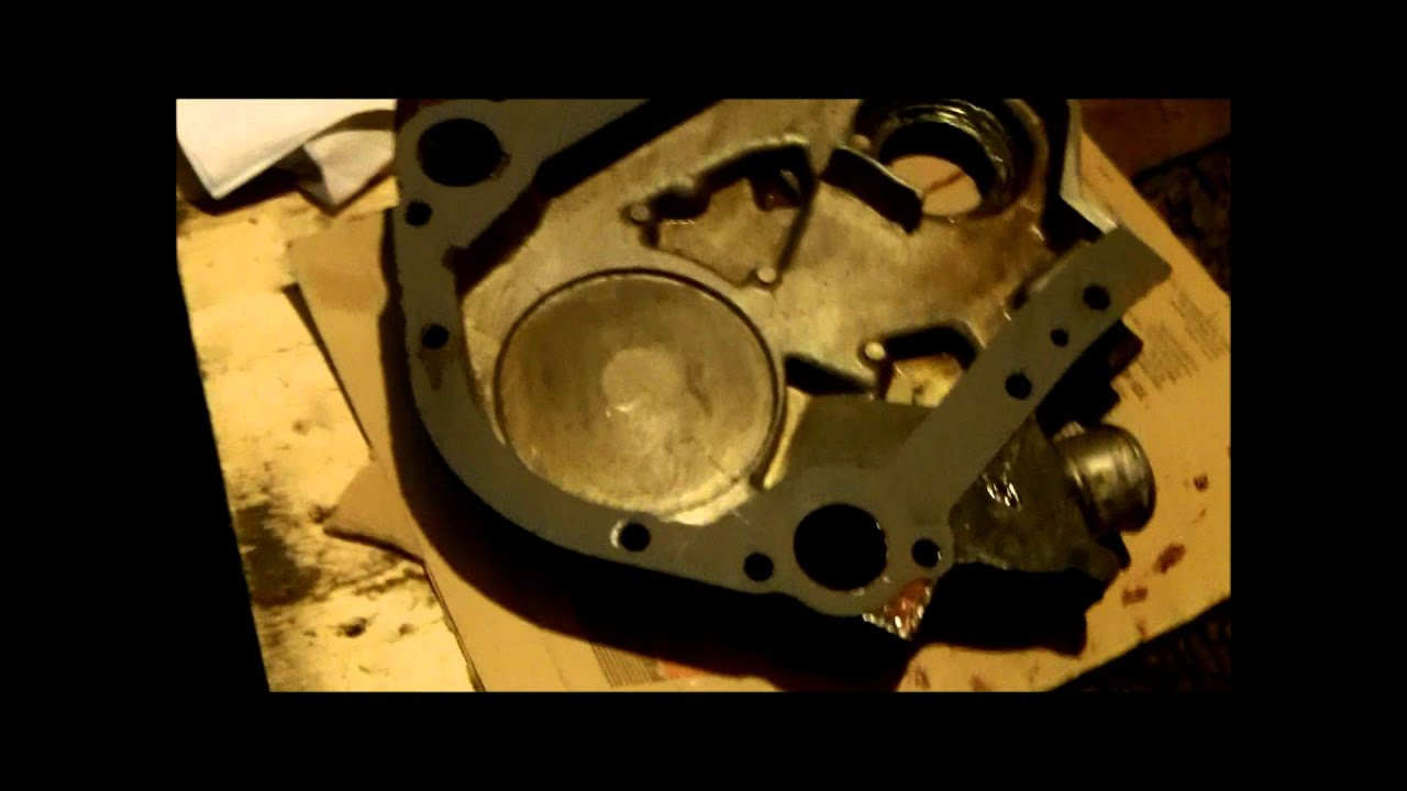 Timing Chain Replacement >> Ford Ranger 3.0 timing chain replacement Part V.wmv - YouTube