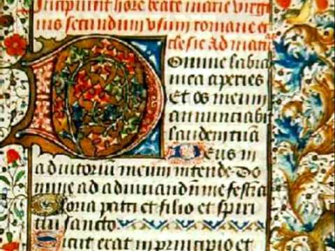 Gothic chant - École de Notre-Dame: Benedicamus Domino