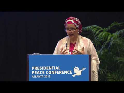 Amina J. Mohammed, Deputy Secretary-General for the United Nations, keynote remarks