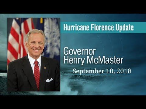 Hurricane Florence Update - 09/10/18