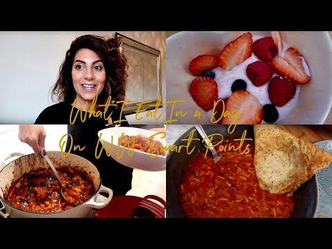 What I Eat In A Day On Weight Watchers (WW) | Natasha Summar