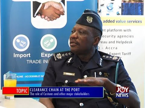 Clearance Chain at the Port - PM Express on JoyNews (28-12-17)