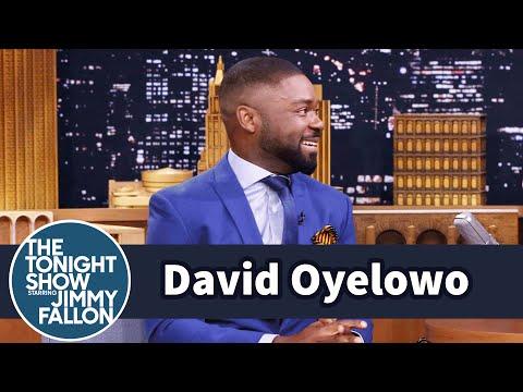 David Oyelowo's Kids Beat His Epic Basketball Shot