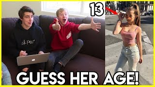 IMPOSSIBLE GUESS HER AGE CHALLENGE w/ Roomies