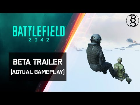 Battlefield 2042 Beta Trailer (Actual Gameplay)