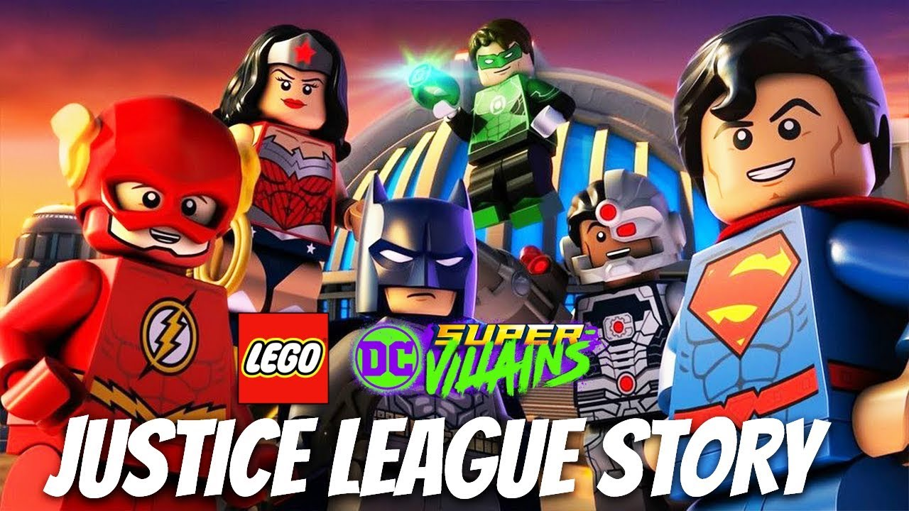 LEGO DC SUPER VILLAINS Justice League Story Full Gameplay Walkthrough (Post Game Mission) 1080p60FPS