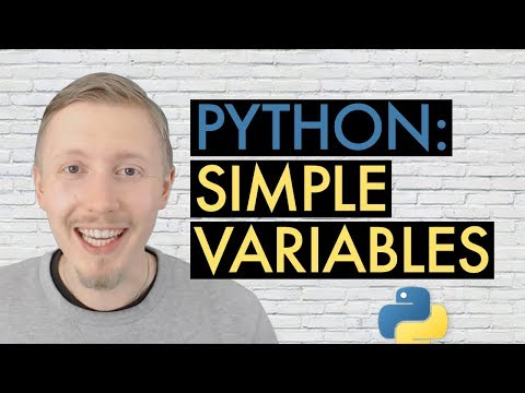 03 Beginner's Guide to Python - Variables