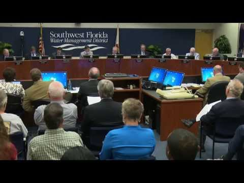 SWFWMD Governing Board Discusses Business Plan