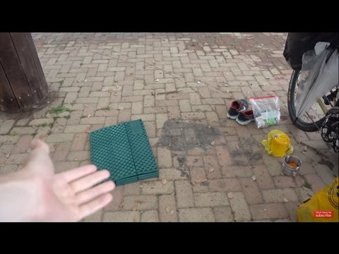 Unexpected Wet Urban Camping in Sakai Japan | Vlog 15