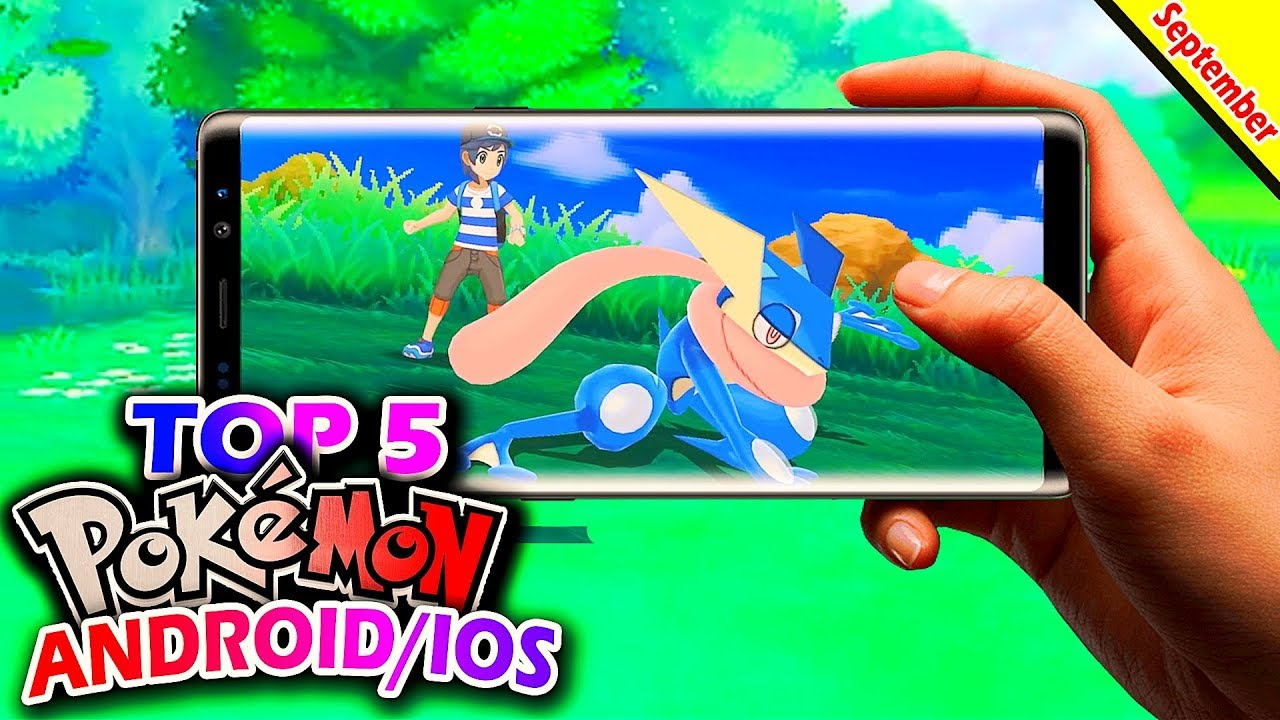 Top 5 New Pokémon Games in September 2018 (Android/IOS)  #Smartphone #Android
