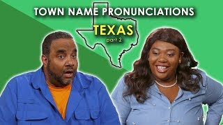 We Tried (again) to Pronounce these Texas Towns
