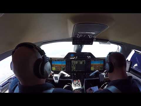 Pretty boring flight. AUS-SAT Phenom 300
