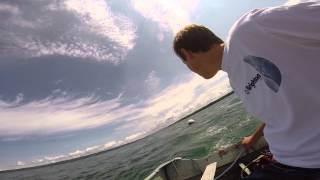 Motor Falling off boat