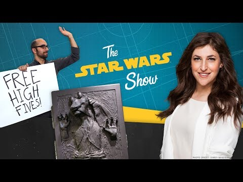 Big Bang Theory's Mayim Bialik, the Coolest Stuff at Lucasfilm, and a New Star Wars Game Revealed!