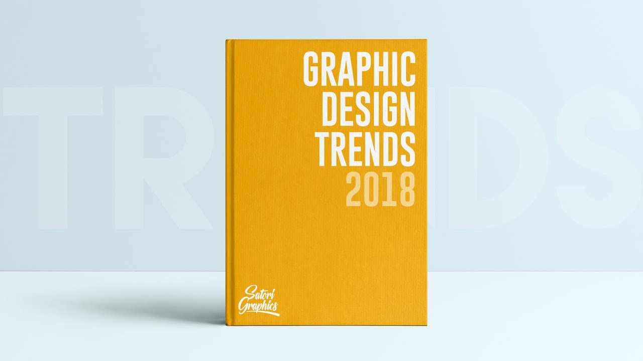 Book Cover Design Trends ~ Graphic design trends of are they important youtube